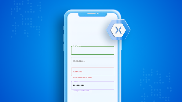 Creating a Floating Label Layout in Xamarin.Forms DataForm