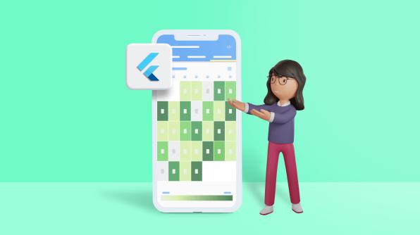 Easy Ways to Build a Heat Map Calendar Using the Flutter Event Calendar