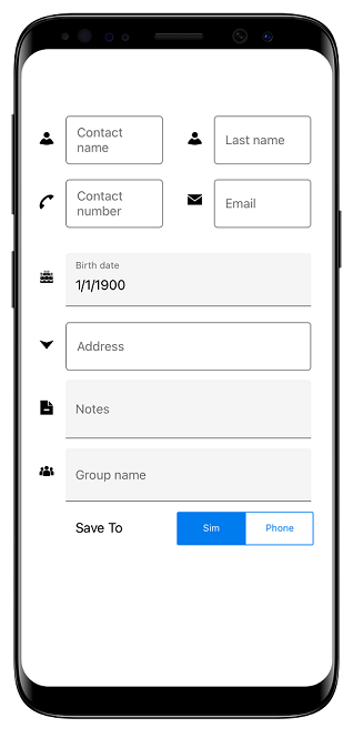 Floating Label Layout in Xamarin.Forms DataForm