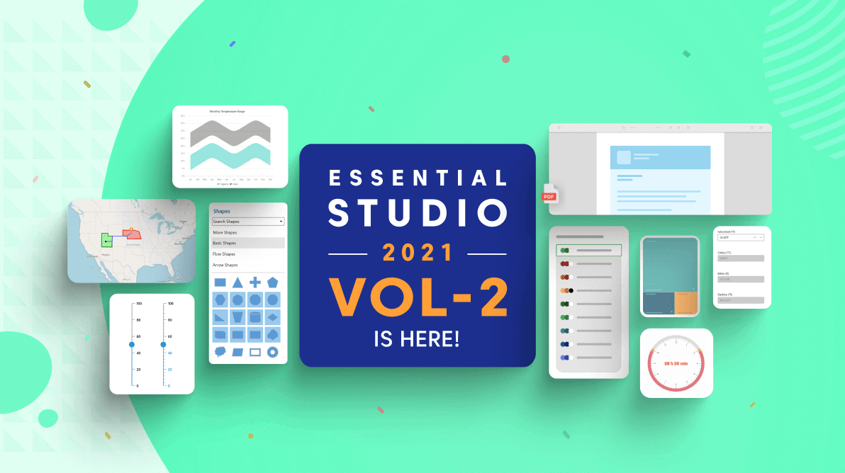 Syncfusion Essential Studio 2021 Volume 2 Is Here!