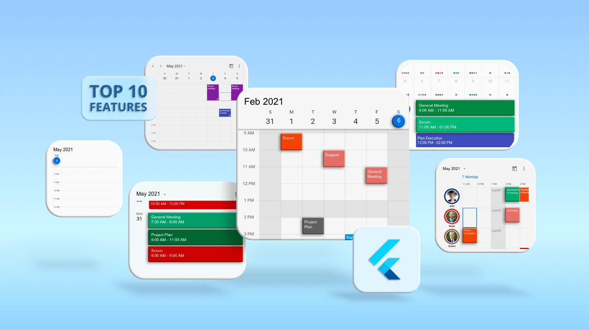 Top 10 Features of Flutter Event Calendar