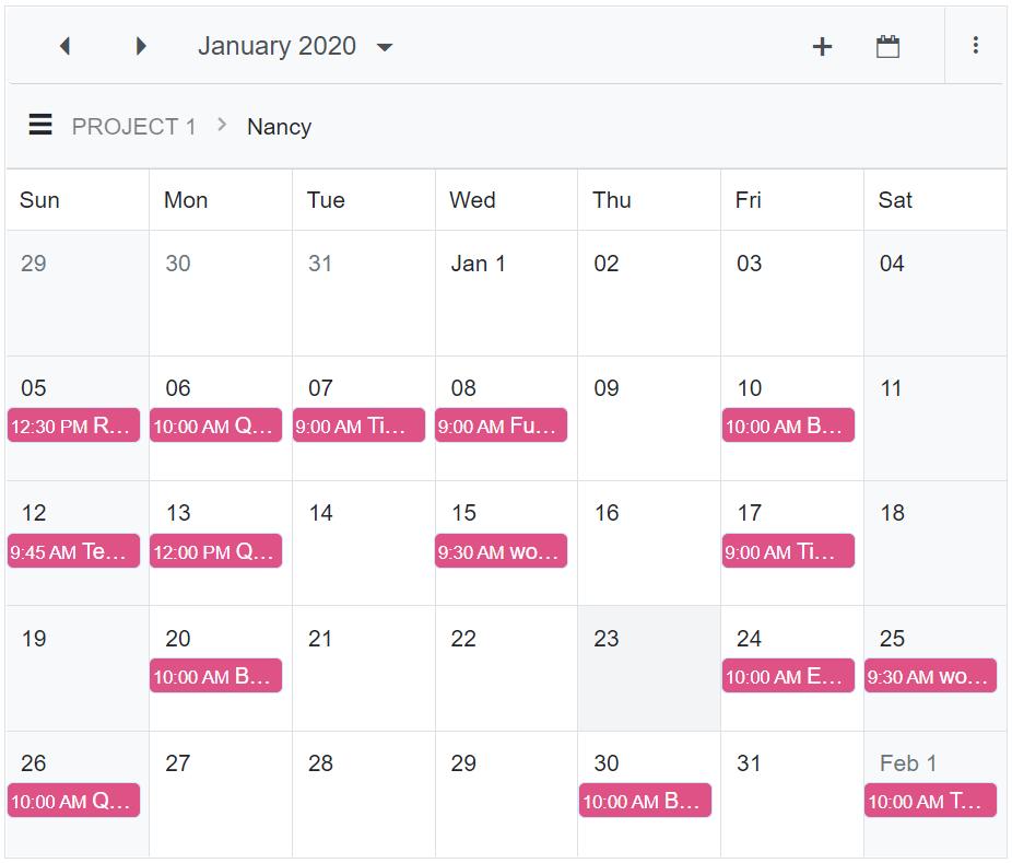 Adaptive Layout Support in Blazor Scheduler