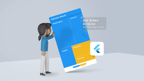 Visualize Election Results Using the Flutter Treemap Widget