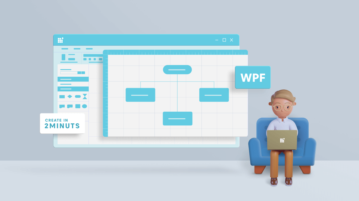 Create a Feature-Rich WPF Diagramming App in 2 Minutes