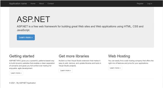 Create a Simple ASP.NET MVC Project
