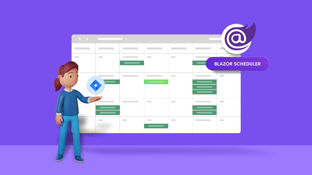 Easy Steps to Synchronize JIRA Calendar Tasks With the Blazor Scheduler