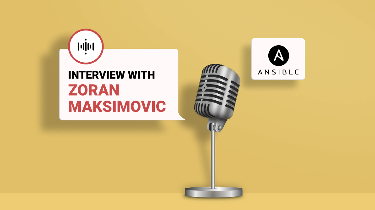 Interview with Ansible Succinctly Author Zoran Maksimovic