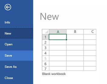 Saving an Excel File Using WPF Spreadsheet