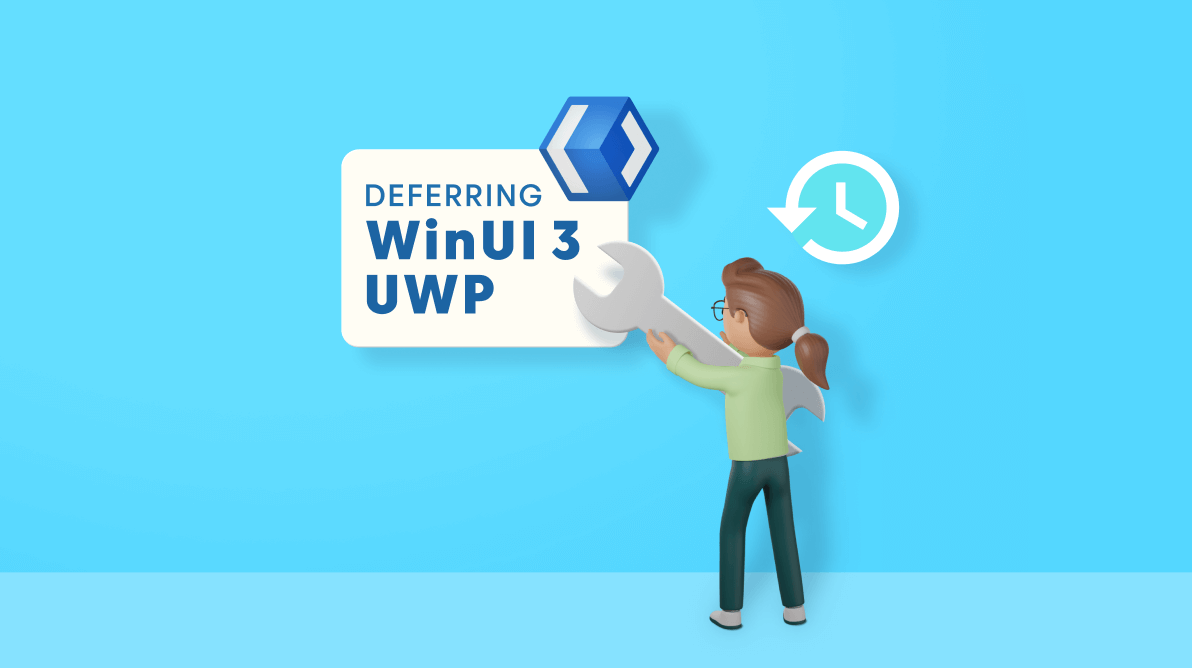 Syncfusion Defers UWP Support in WinUI 3 Suite