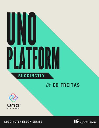 Uno Platform Succinctly eBook