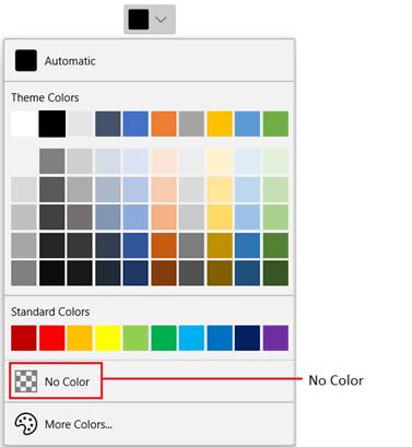 WinUI DropDown ColorPalette Displaying No Color Button