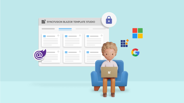 Authentication Support in Syncfusion Blazor Template Studio: A Complete Guide
