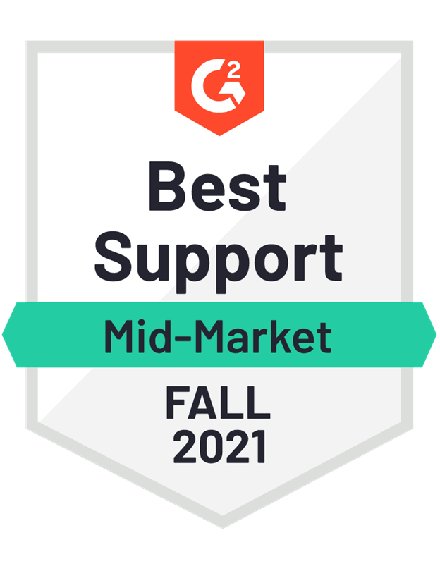 Best Support Mid-Market Fall 2021