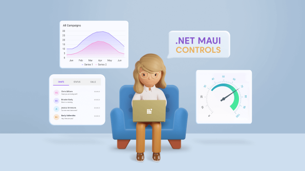 Introducing the First Set of Syncfusion .NET MAUI Controls