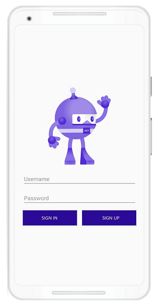.NET MAUI App with Simple Login Page
