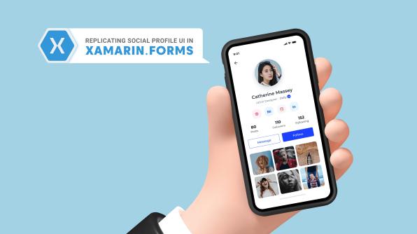 Replicating a Social Profile UI in Xamarin.Forms