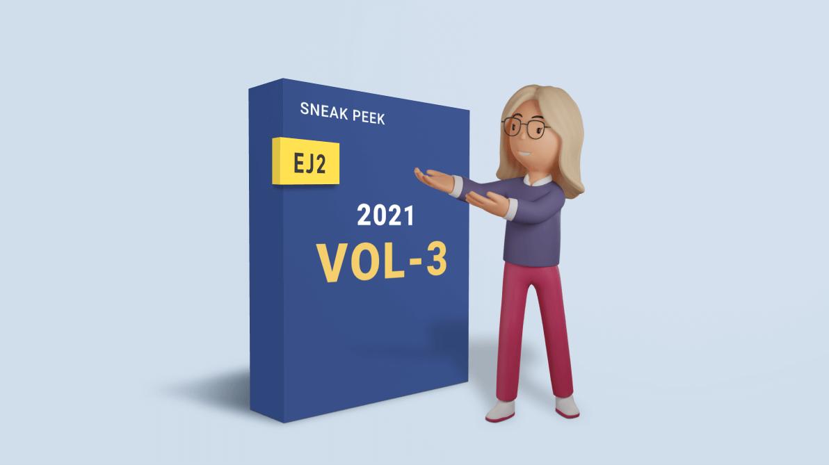 Sneak Peek at 2021 Volume 3: Essential JS 2