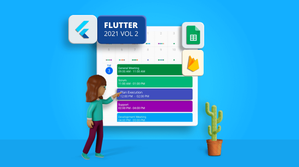 Use the Flutter Calendar Widget to Add Appointments from Google Sheets and Firebase [Webinar Show Notes]