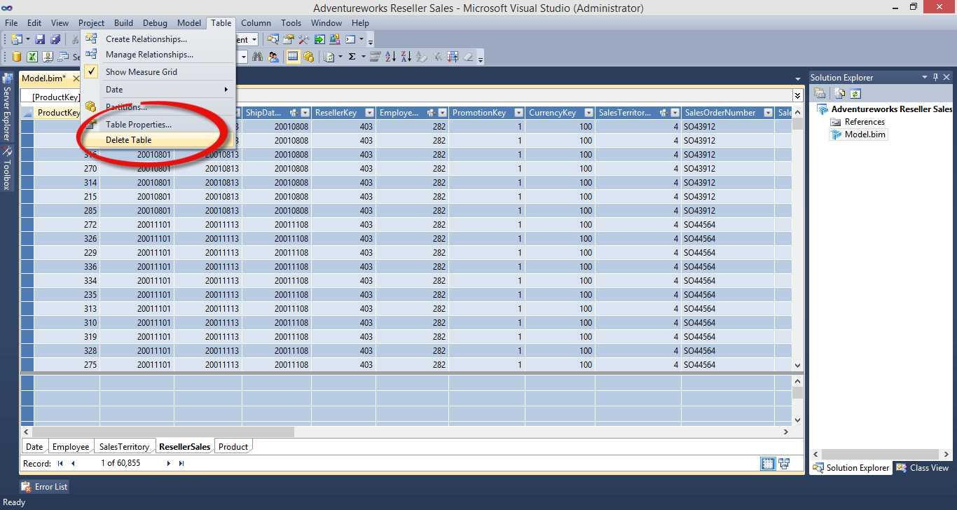 Ebook - Chapter 2 of BI Solutions Using SSAS Tabular Model