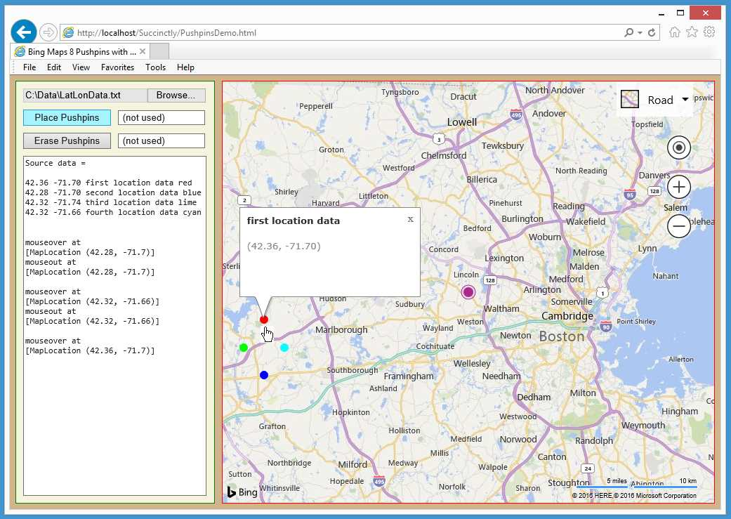 Ebook - Chapter 2 of Bing Maps V8