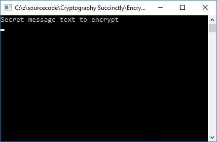 Ebook - Chapter 5 of Cryptography in  NET