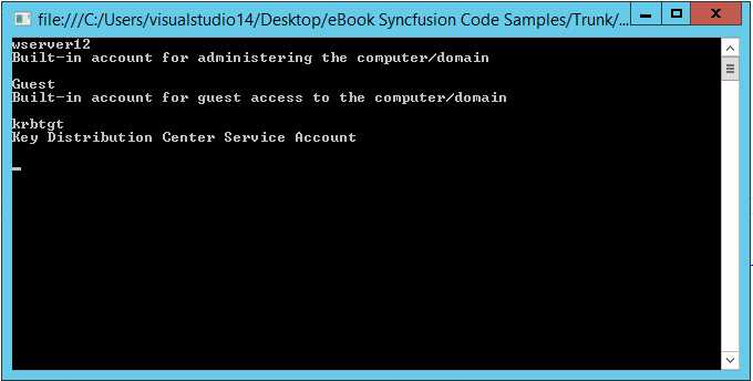 Ebook - Chapter 6 of Directory Enabled Applications