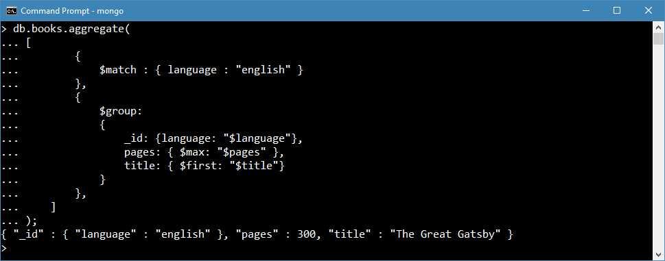 Ebook - Chapter 5 of MongoDB 3