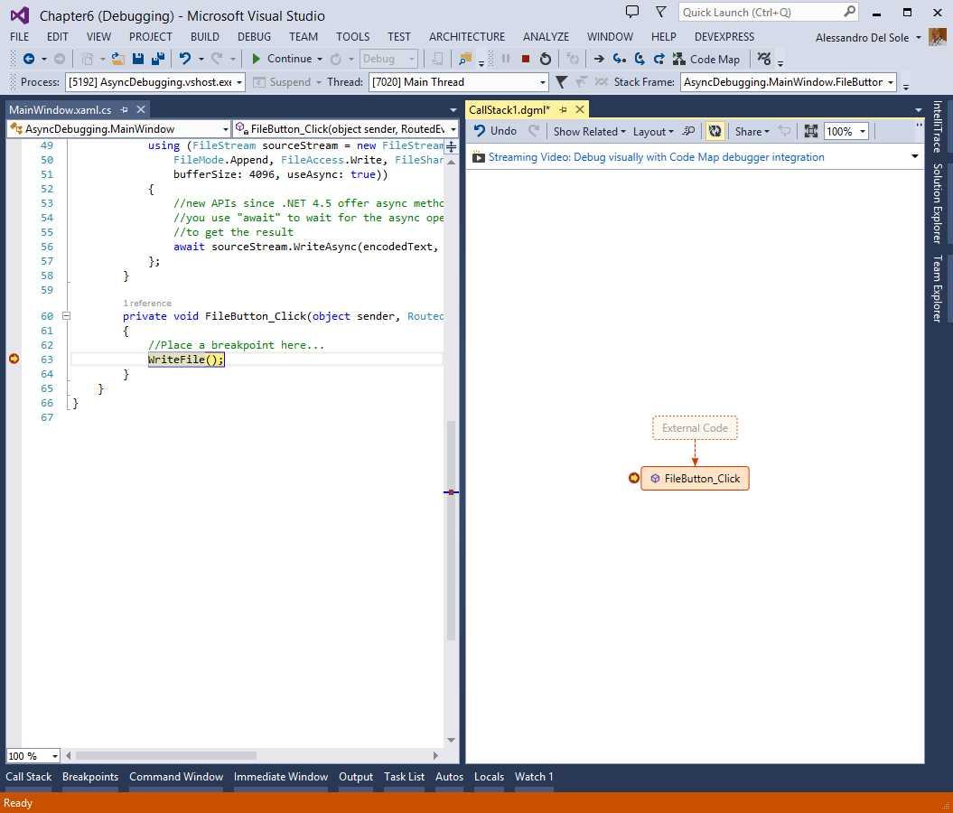 Ebook - Chapter 6 of Visual Studio 2013