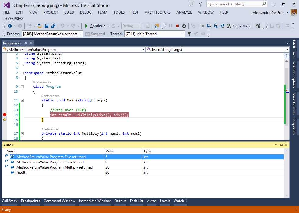 Ebook - Chapter 6 of Visual Studio 2013