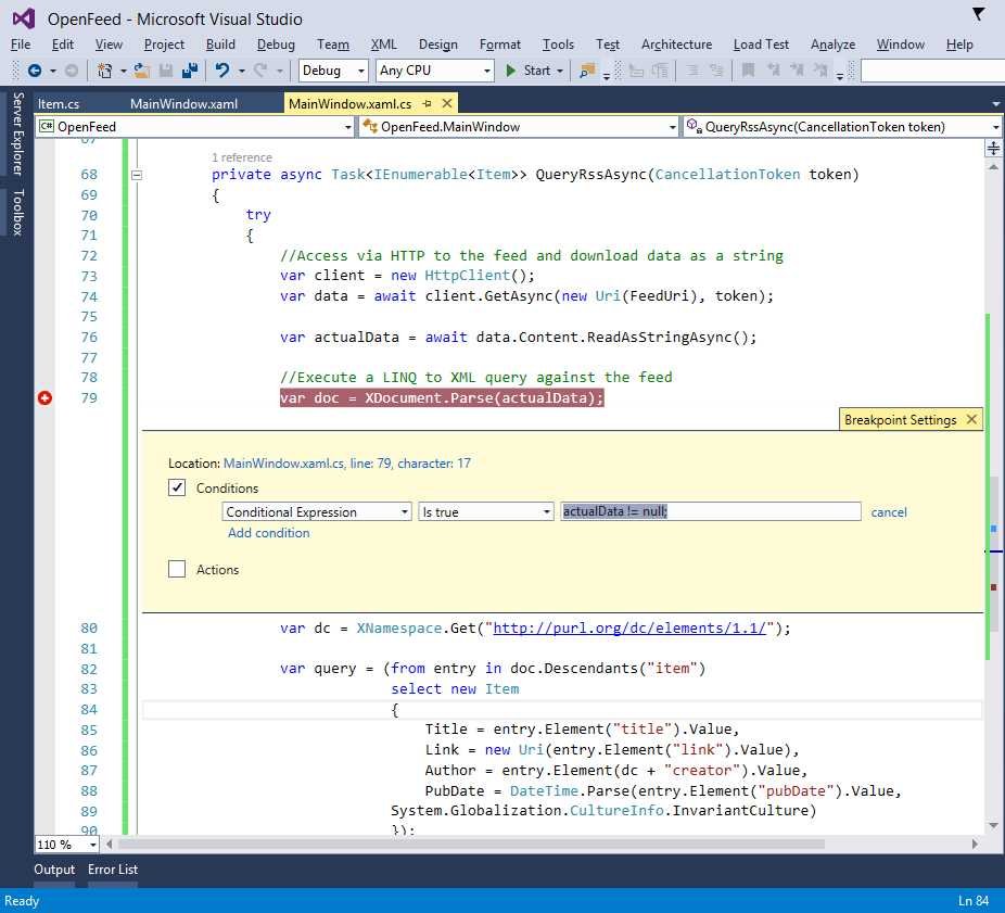 Ebook - Chapter 6 of Visual Studio 2015