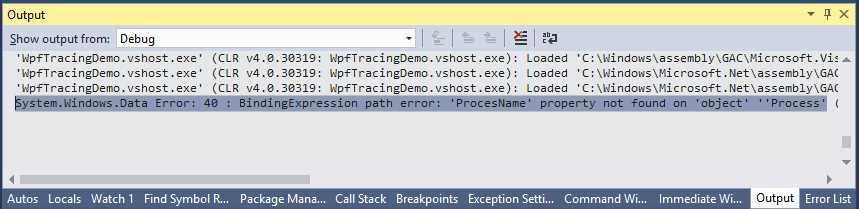 Ebook - Chapter 5 of WPF Debugging and Performance
