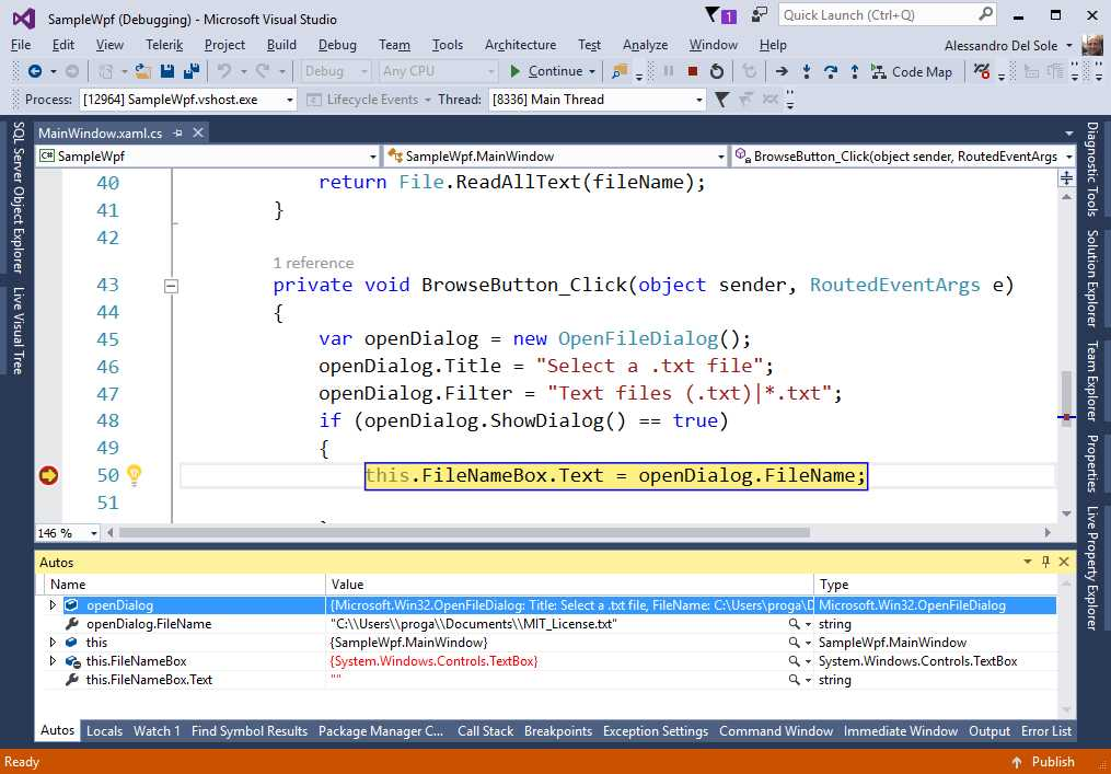 Ebook - Chapter 3 of WPF Debugging and Performance