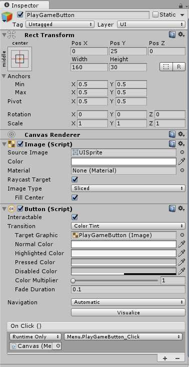 Ebook - Chapter 3 of Unity Game Development