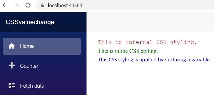CSSvaluechange