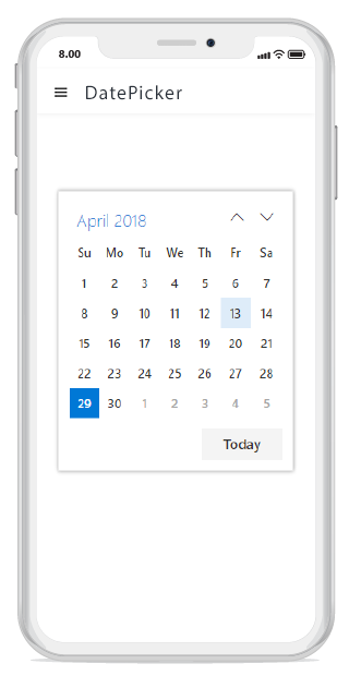 Angular DatePicker Component | Syncfusion