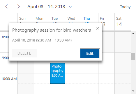 Angular Scheduler | Angular Event Calendar | Syncfusion