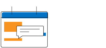 Illustration of event tooltips of ASP Net Core Blazor Scheduler component