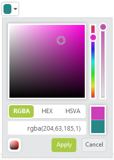 Standard Color Picker