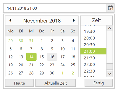 DateTime Picker in multiple languages