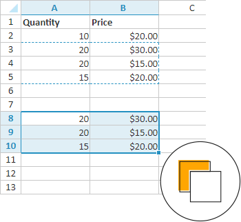 Changing the Order of Operations in Excel Formulas |Operations Spreadsheet