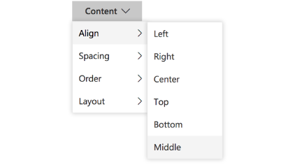 ASP.NET Core Dropdown menu popup with multi-level submenu
