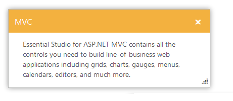Overview of ASP.NET MVC Modal Dialog Control