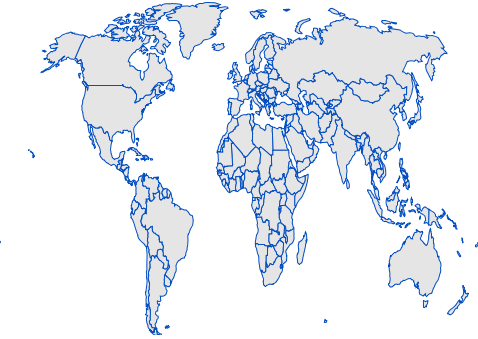 JavaScript Maps is rendered in Eckert3 projection