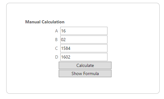 Calculation Engine for jQuery | Syncfusion