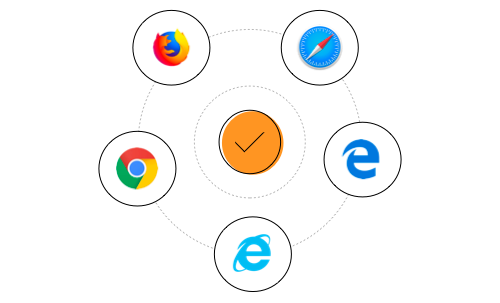 Supported web browsers for JavaScript scheduler