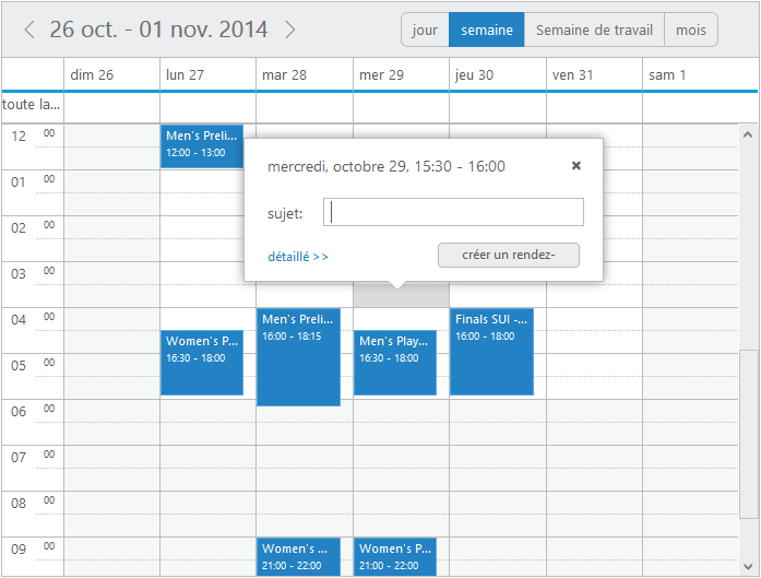 Localization in Scheduler
