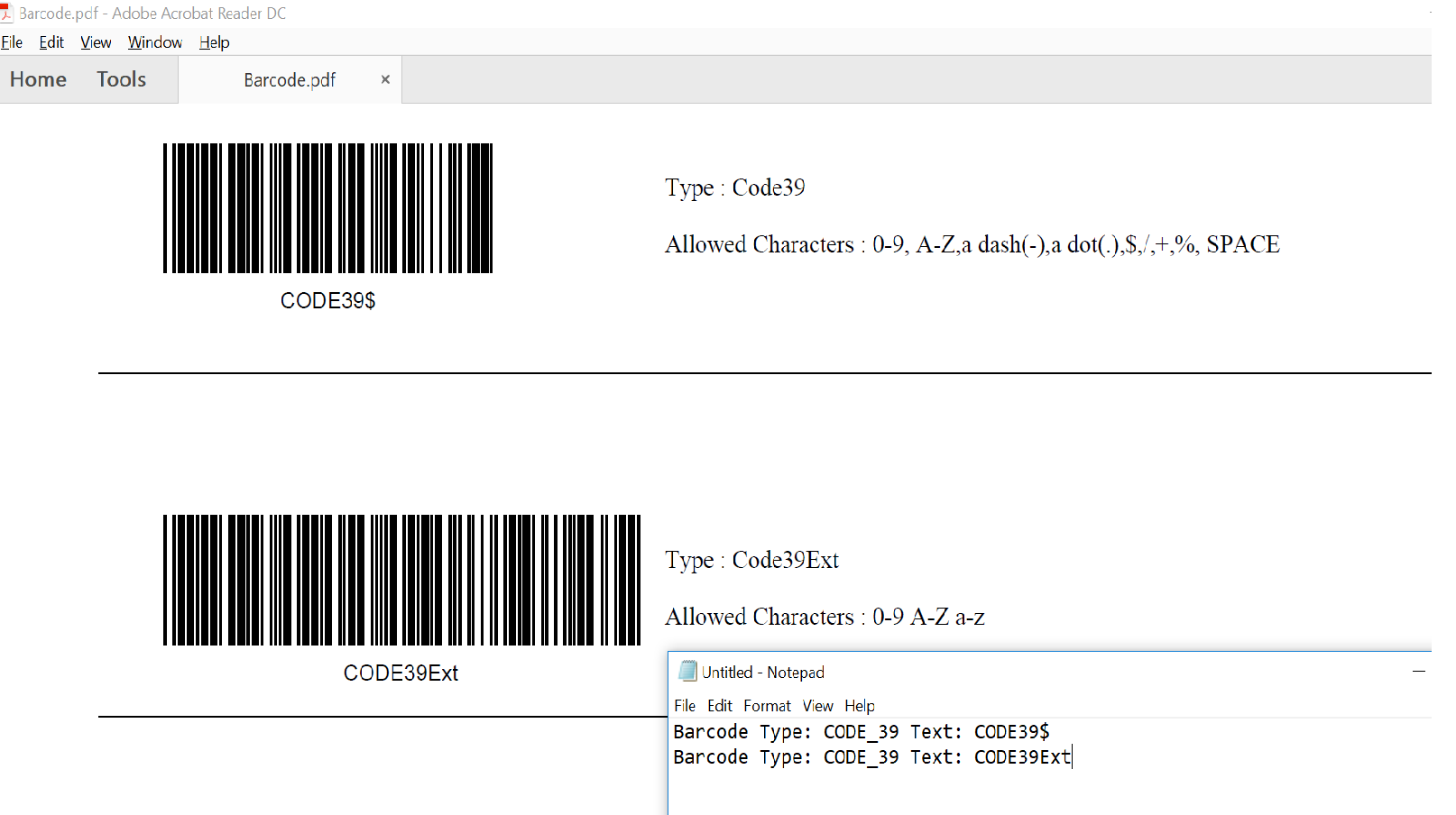 SF Barcode Reader OPX | Scans 1D and 2D barcodes from PDF
