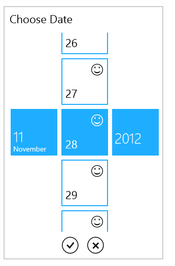 DatePicker for UWP with different DateTime pattern