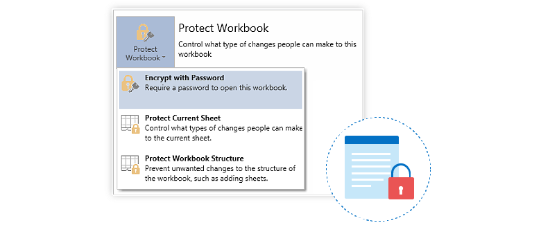 Excel like worksheets protection in UWP Spreadsheet