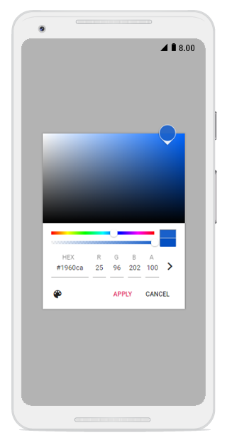 Touch-friendly and adaptive mobile user interface